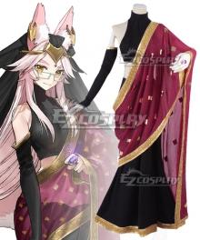 Fate Grand Order Extra CCC Caster Tamamo no Mae India Fox Cosplay Costume