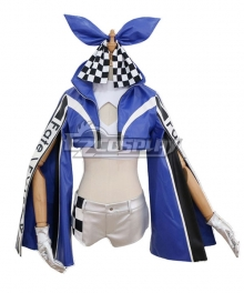 Fate Grand Order Fate EXTELLA Racing Suit Tamamo no Mae Cosplay Costume