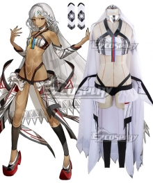 Fate Grand Order Fate Extella Saber Attila Cosplay Costume