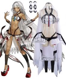 Fate Grand Order Fate Extella Saber Attila Cosplay Costume