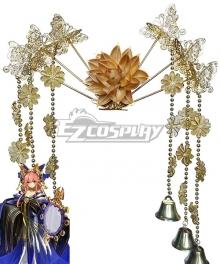 Fate Grand Order Fate Extra Tamamo No Mae Kimono Headwear Cosplay Accessory Prop