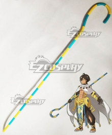 Fate Grand Order Fate Prototype Rider Ramessess II Staves Cosplay Weapon Prop