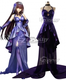Fate Grand Order FGO 2th Anniversary Scathach Cosplay Costume