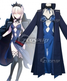 Fate Grand Order FGO Artoria Pendragon Rider Alter Saber Cosplay Costume