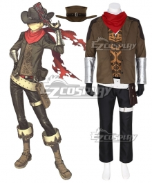 Fate Grand Order FGO Archer Billy The Kid Cosplay Costume