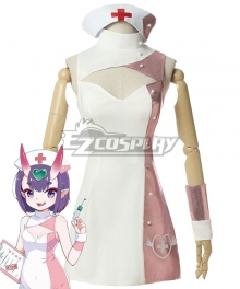 Fate Grand Order FGO Assassin Shuten Douji Nurse Cosplay Costume
