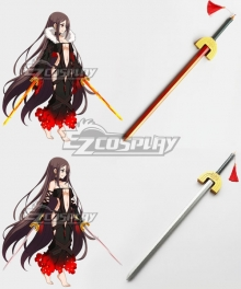 Fate Grand Order FGO Assassin Yu Miaoyi Akuta Hinako White Red Two Swords Cosplay Weapon Prop