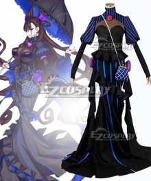 Fate Grand Order FGO Caster Murasaki Shikibu Stage 1 Cosplay Costume