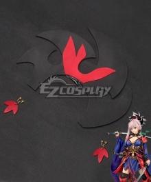 Fate Grand Order FGO Miyamoto Musashi Headwear And Ear Clips Cosplay Accessory Prop