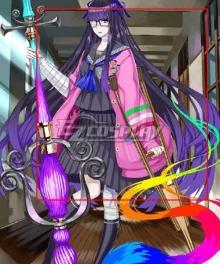 Fate Grand Order FGO Rider Murasaki Shikibu Swimsuit Stage 2 Purple Cosplay Wig