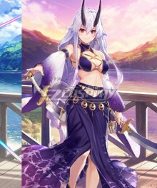 Fate Grand Order FGO Tomoe Gozen Swimsuit Stage 2 Cosplay Costume
