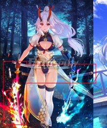 Fate Grand Order FGO Tomoe Gozen Swimsuit Stage 3 Cosplay Weapon Prop