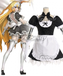 Fate Grand Order Jeanne D'Arc Joan alter Maid Cosplay Costume