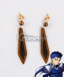 Fate Grand Order Lancer Cu Chulainn Earrings B Cosplay Accessory Prop