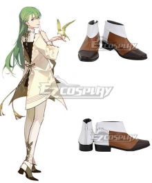 Fate Grand Order Lancer Enkidu Moon Boyfreind Brown Cosplay Shoes