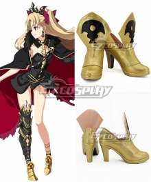 Fate Grand Order Lancer Ereshkigal Sprite2 Golden Cosplay Shoes