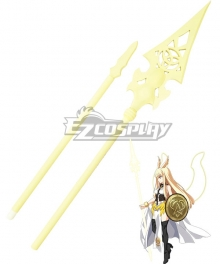 Fate Grand Order Lancer Valkyrie Spear Cosplay Weapon Prop