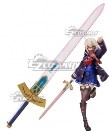Fate Grand Order Mysterious Heroine X Alter Glowing Sword Cosplay Weapon Prop