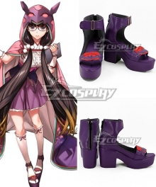 Fate Grand Order Osakabehime Purple Cosplay Shoes