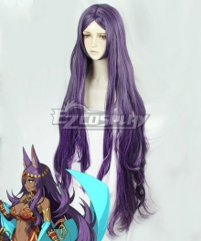 Fate Grand Order Queen of Sheba Purple Cosplay Wig