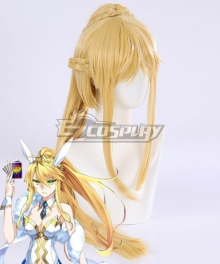 Fate Grand Order Ruler Artoria Pendragon Golden Cosplay Wig