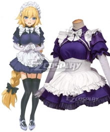 Fate Grand Order Ruler Joan Of Arc Jeanne D'Arc Maid Wear Cosplay Costume