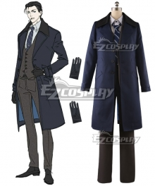 Fate Grand Order Ruler Sherlock Holmes Crutch Cosplay Costume