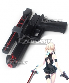 Fate Grand Order Saber Alter Artoria Pendragon Gun Cosplay Weapon Prop