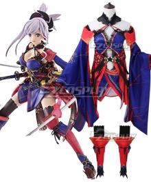 Fate Grand Order Saber Miyamoto Musashi Cosplay Costume
