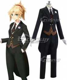 Fate Grand Order Saber Mordred FGO 2nd Anniversary Cosplay Costume