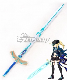 Fate Grand Order Saber Mysterious Heroine X Sword Cosplay Weapon Prop