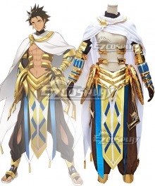 Fate Prototype: Fragments Rider Ozymandias Ramesses II New Edition Cosplay Costume