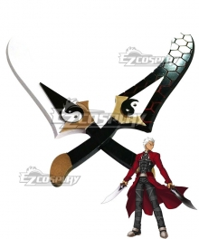 Fate Stay Night Fate Grand Order Archer Emiya Two Sword Cosplay Weapon Prop