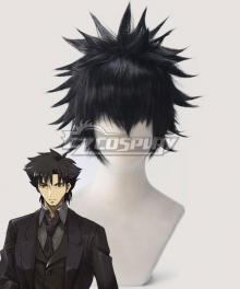 Fate Zero Kiritsugu Emiya Black Cosplay Wig