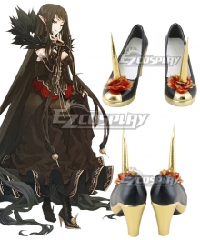 Fate/Grand Order Semiramis Black Cosplay Shoes