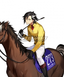Fate/Grand Prix Order In Takarazuka Kinen FGO Rider Mandricardo Cosplay Costume