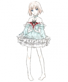 Fate/Prototype Fate Prototype Sajou Manaka Cosplay Costume