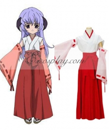 Higurashi When They Cry Hanyu Furude Cosplay Costume