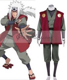 Naruto Shippuuden Jiraiya Cosplay Costume