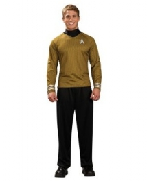 Star Trek Movie 2009 Gold Shirt Deluxe Adult Costume