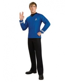 Star Trek Movie 2009 Blue Shirt Deluxe Adult Costume
