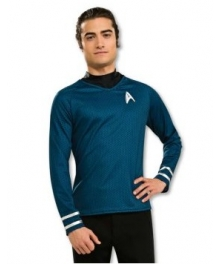 Star Trek Movie 2009 Grand Heritage Blue Shirt Adult Costume