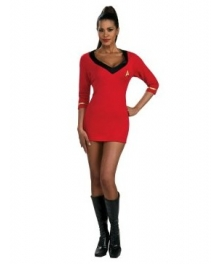 Star Trek Secret Wishes Red Dress EST0011