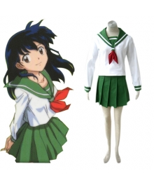 Inuyasha Kagome Higurashi Cosplay Costume EIY0009