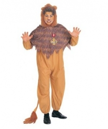 The Wizard of Oz Cowardly Lion Adult Costume EWO0006
