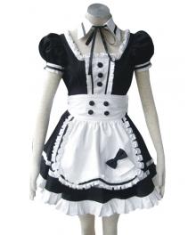 Princess Of Dark Maid Apron Dress Cosplay Costume