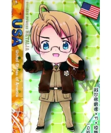 Axis Powers Hetalia United States of America Alfred F Jones Cosplay Costume