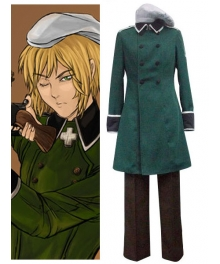 Vash Zwingli Cosplay Costume From Axis Powers Hetalia