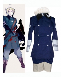 Royal Blue Cosplay Costume from Axis Power Hetalia
