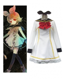 Vocaloid White Dress Cosplay Costume